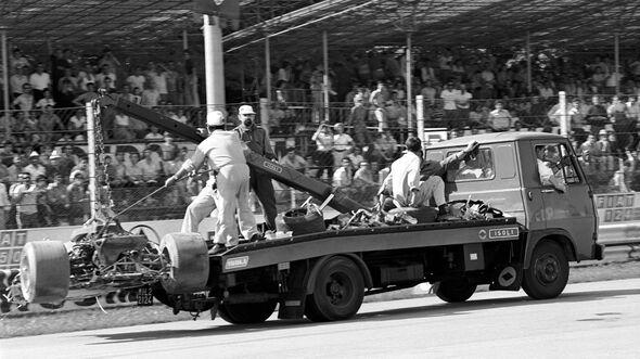 Jochen Rindt - Lotus 72 - GP Italien 1970 - Monza