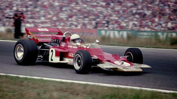 Jochen Rindt - Lotus 72 - Hockenheim 1970