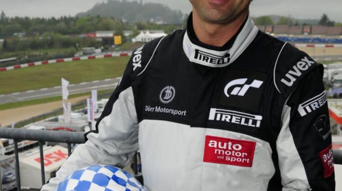 Jochen Übler 24h-Rennen Nürburgring 2010 Motor Presse Stuttgart Fahrer