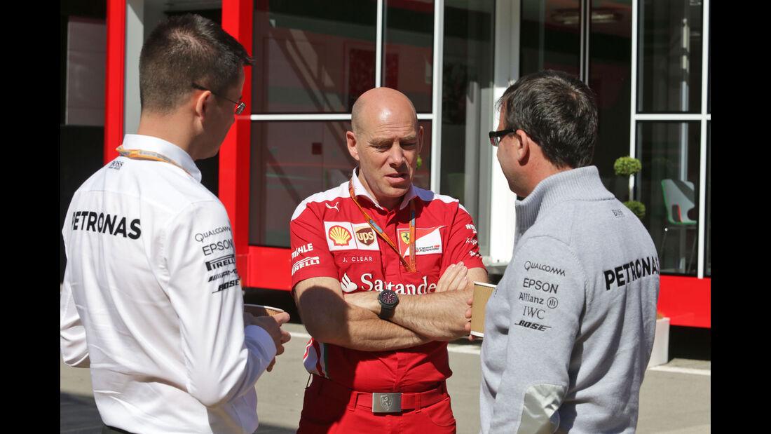 Jock Clear - Ferrari - F1 - GP Spanien - Barcelona - Donnerstag - 12.5.2016