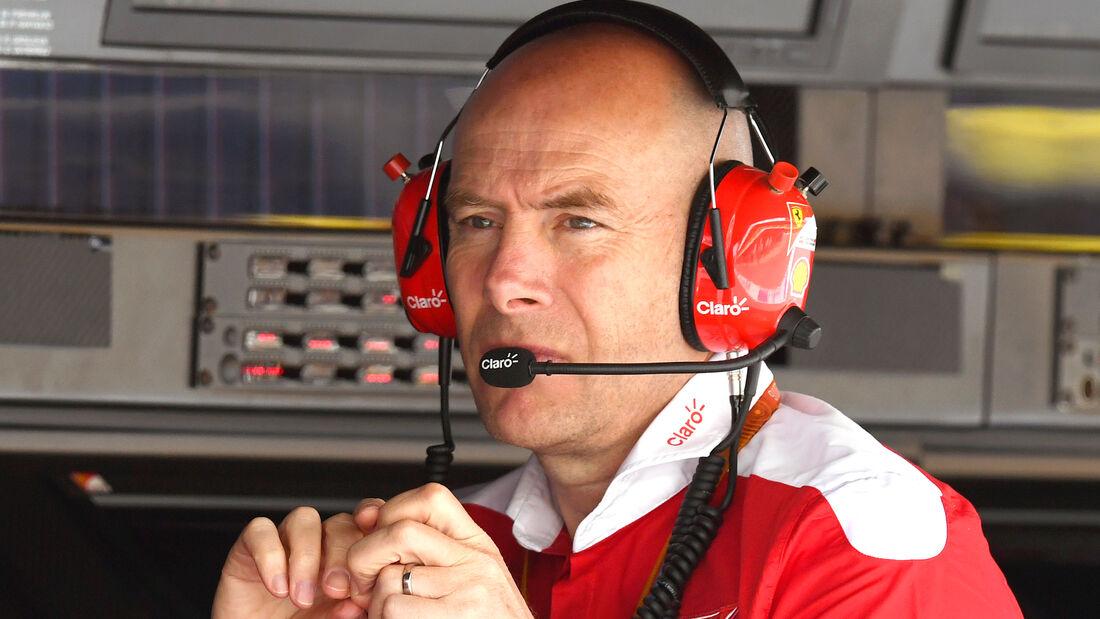 Jock Clear - Ferrari - GP Spanien 2016