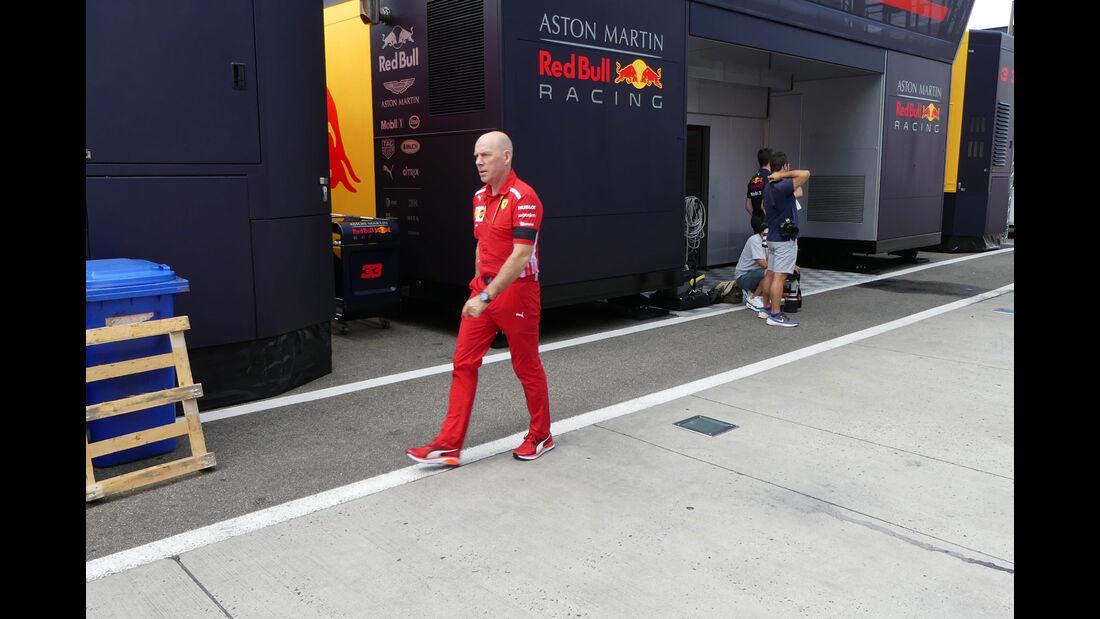 Jock Clear - Ferrari - GP Ungarn - Budapest - Formel 1 - Donnerstag - 26.7.2018