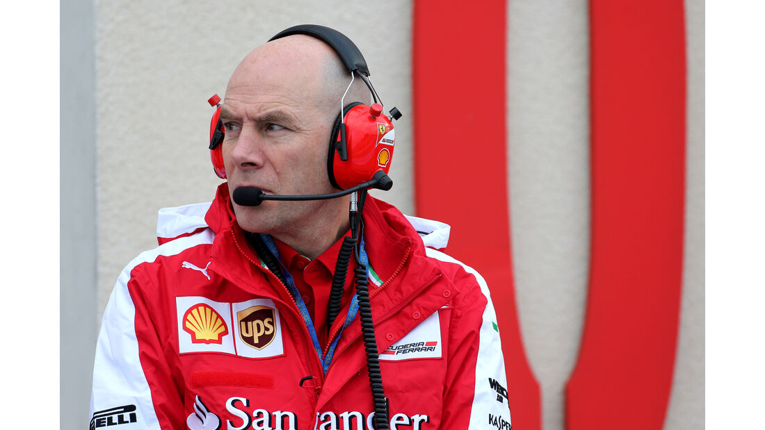 Jock Clear - Ferrari - Pirelli Regenreifen-Test - Paul Ricard - 26. Januar 2016