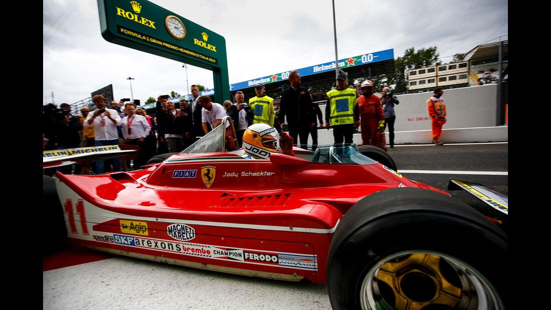 Jody Scheckter - Ferrari 312 T4 - Formel 1 - GP Italien - Monza - 6. September 2019