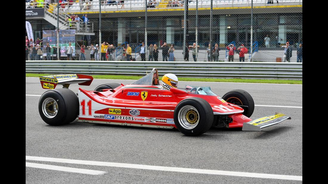 Jody Scheckter - Ferrari 312 T4  - Formel 1 - GP Italien - Monza - 7. September 2019