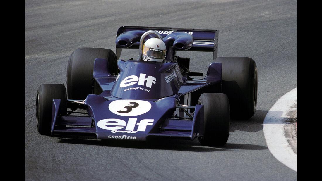 Jody Scheckter - Tyrrell 007 - GP Spanien 1976