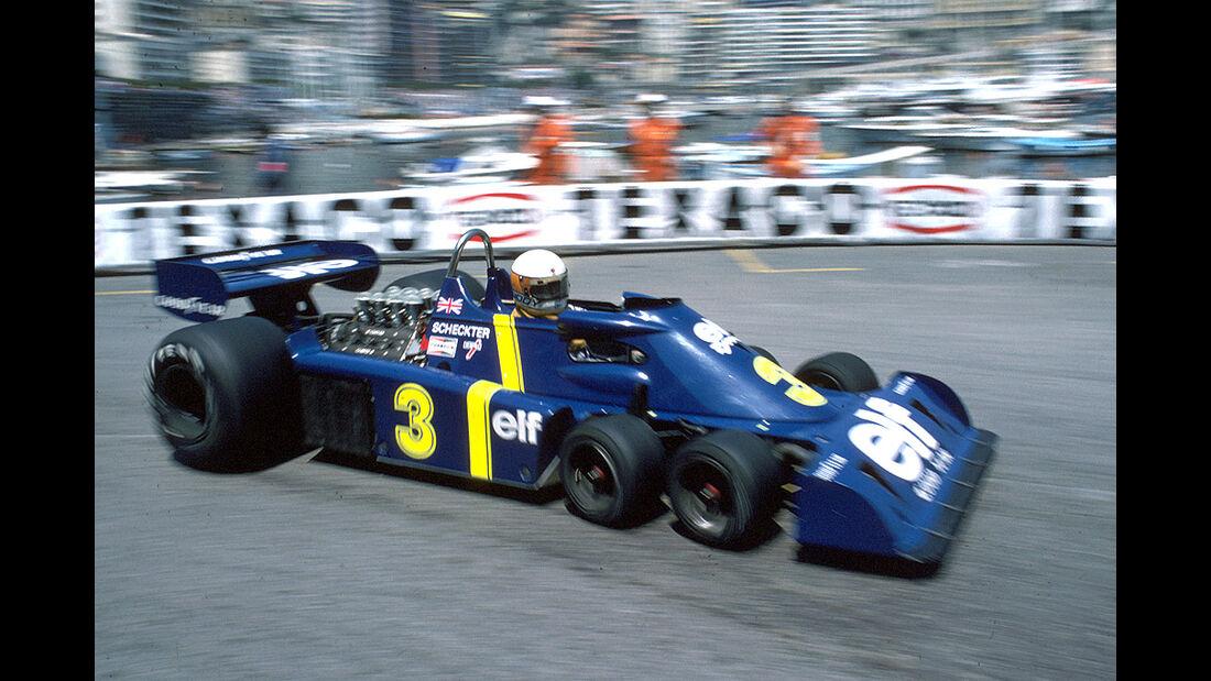 Jody Scheckter, Tyrrell-Ford P34