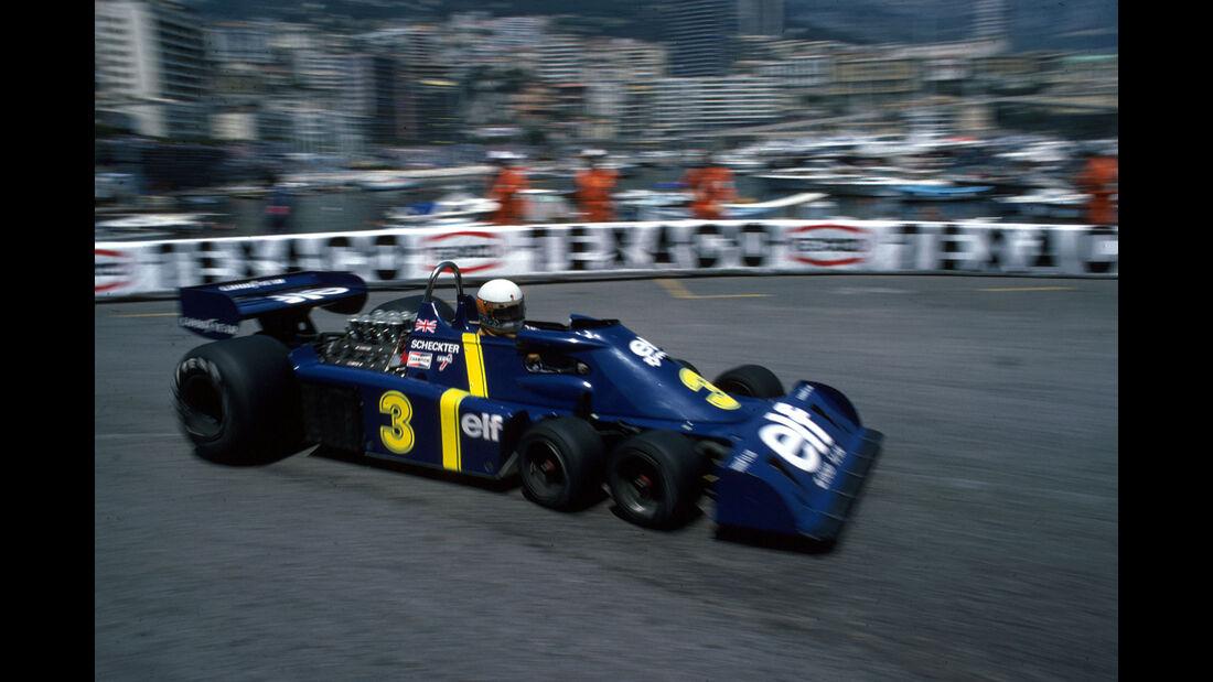 Jody Scheckter - Tyrrell P34 - Monaco 1976