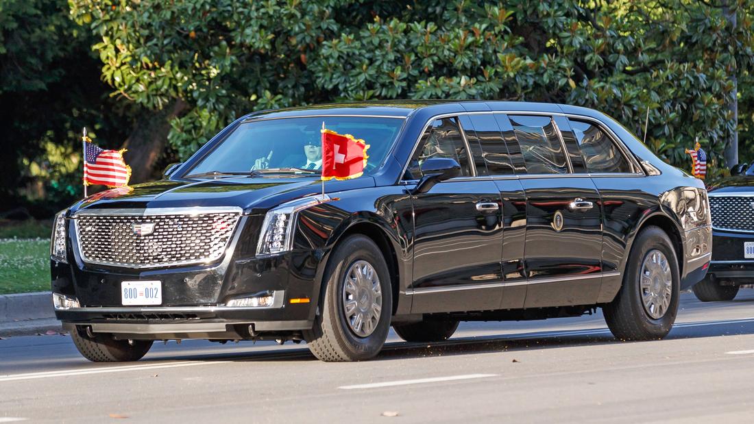 Joe Biden Cadillac The Beast