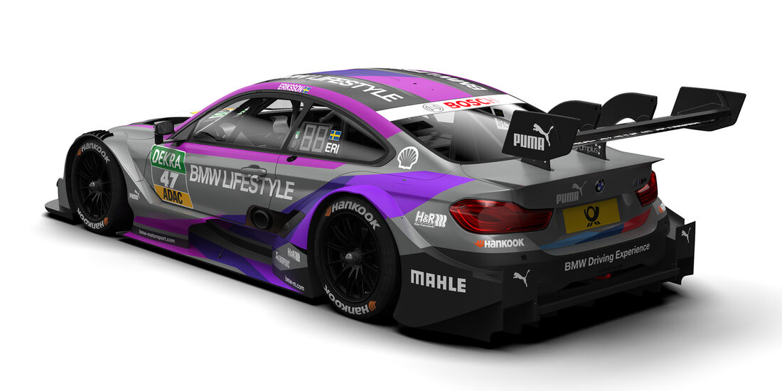 Joel Eriksson - BMW - DTM-Autos 2018
