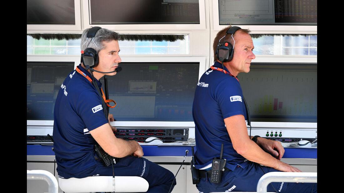 Jörg Zander - Sauber - Formel 1 - GP Aserbaidschan 2017 - Training - Freitag - 23.6.2017