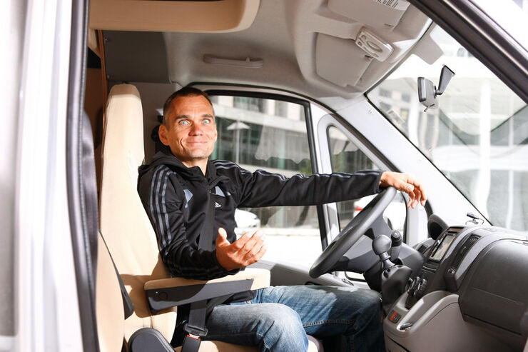 Jörn Thomas, Wohnmobil, Cockpit