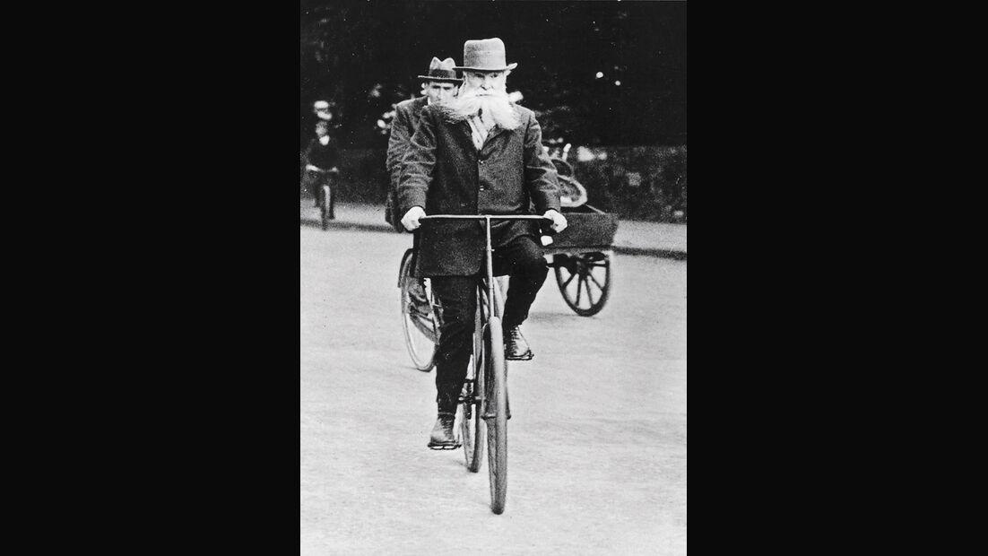 John Boyd Dunlop, Fahrrad, Luftreifen