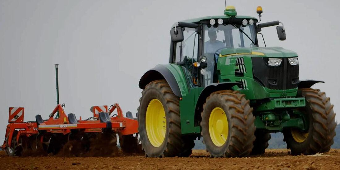 John Deere elektrischer Traktor
