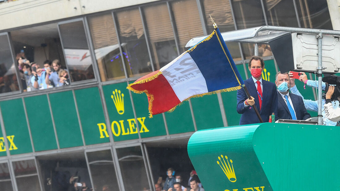 John Elkann - Ferrari - Start - 24h-Rennen Le Mans 2021