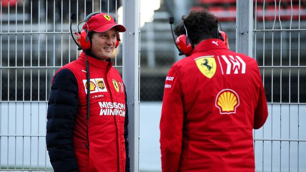 John Elkann - Mattia Binotto - Ferrari