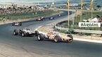 John Love - Brabham BT20 Repco -  Brian Redman - Cooper T81B Maserati - Pedro Rodriguez - BRM P126 - GP Südafrika 1968