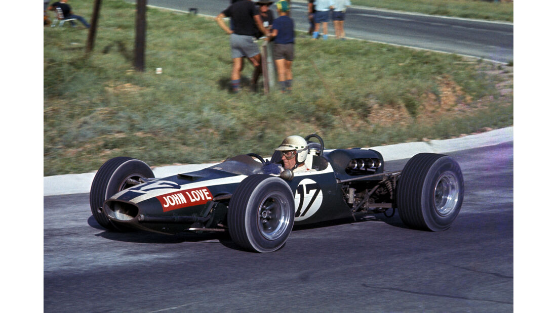 John Love - Cooper Climax T79 - GP Südafrika 1967 - Kyalami