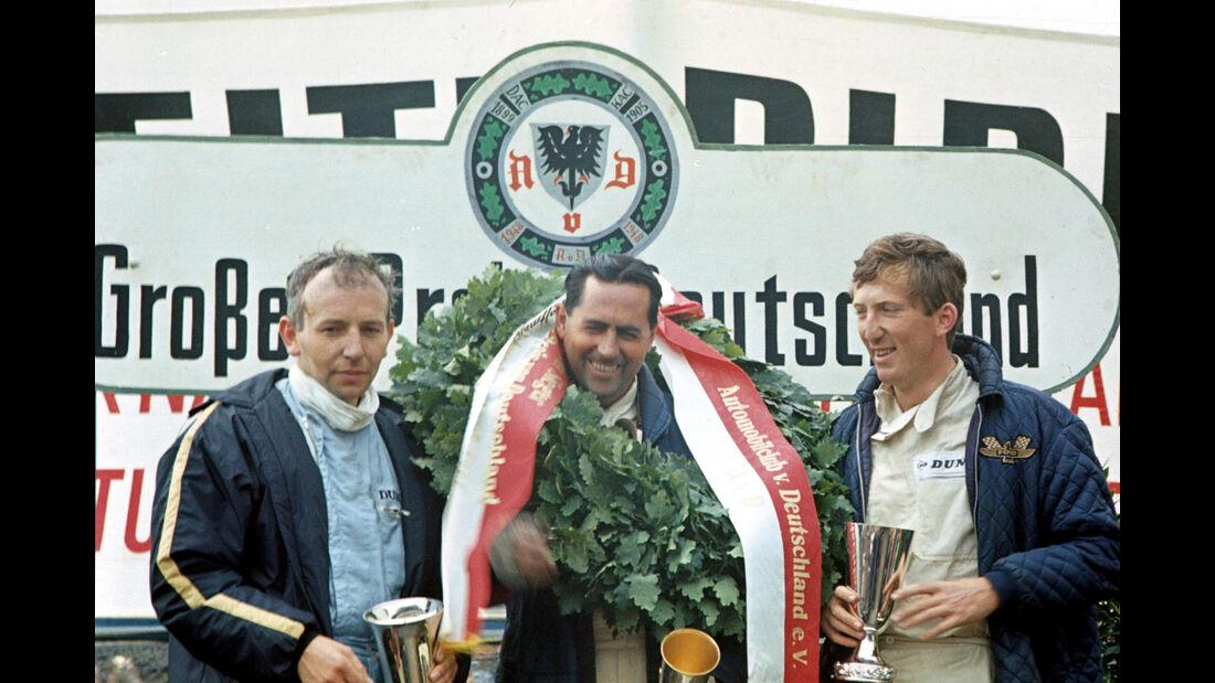 John Surtees - Jack Brabham - Jochen Rindt - GP Deutschland 1966