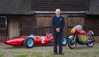 John Surtees - Motorsport- F1 - Ferrari 158 - Motorrad
