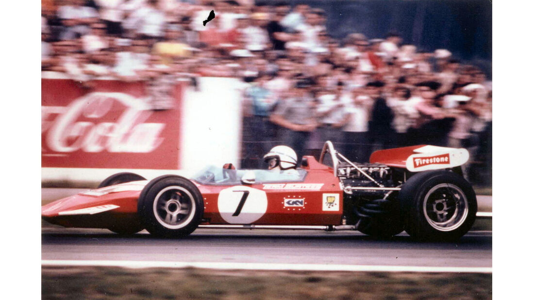 John Surtees - Motorsport- F1 - Surtees TS7