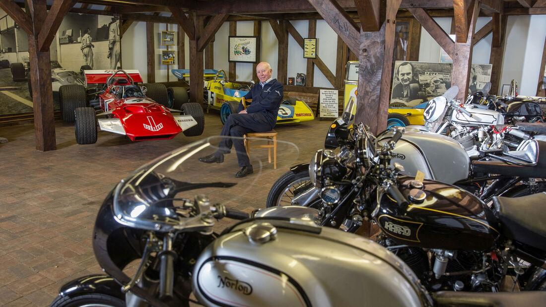 John Surtees - Rennfahrer - Home-Story