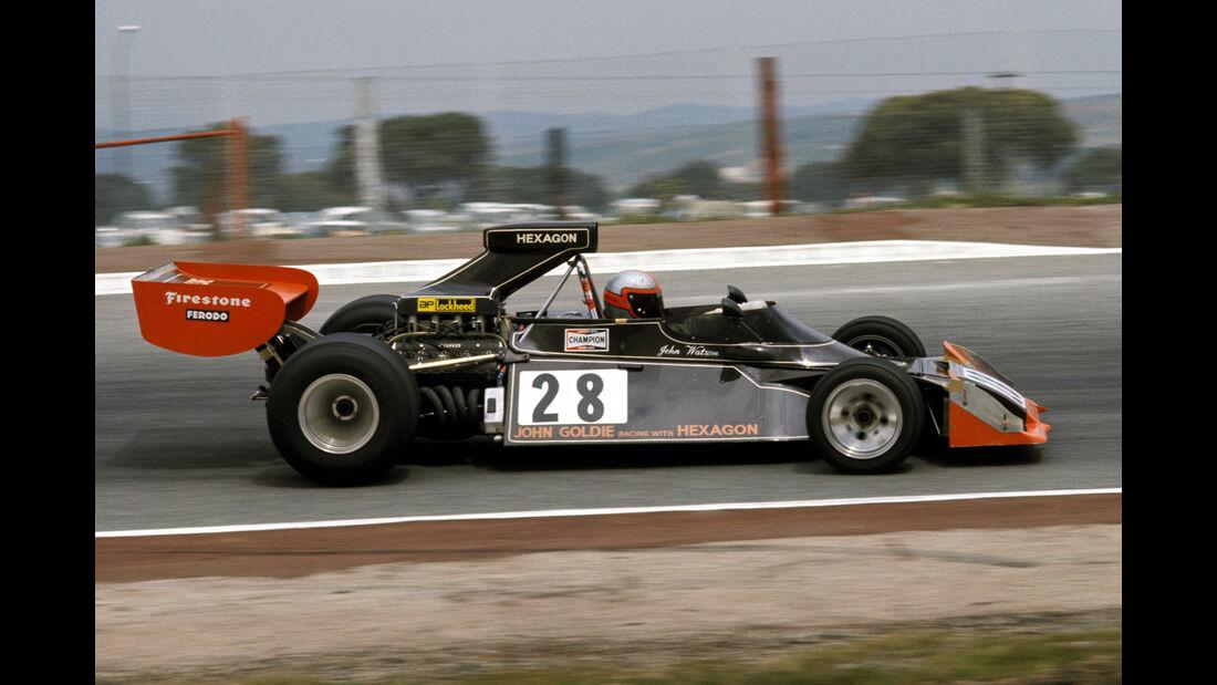 John Watson - Hexagon-Goldie Brabham BT42 - GP Spanien 1974