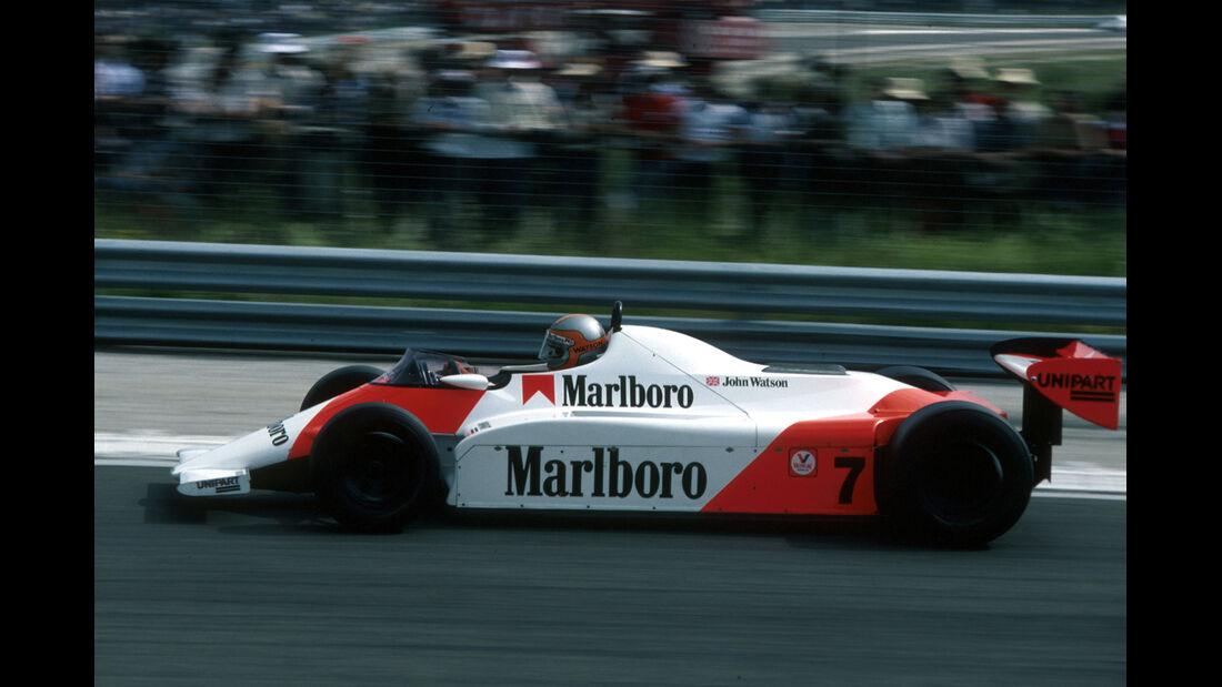 John Watson McLaren 1981