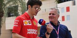 Johnny Herbert - Charles Leclerc - Formel 1 - 2019