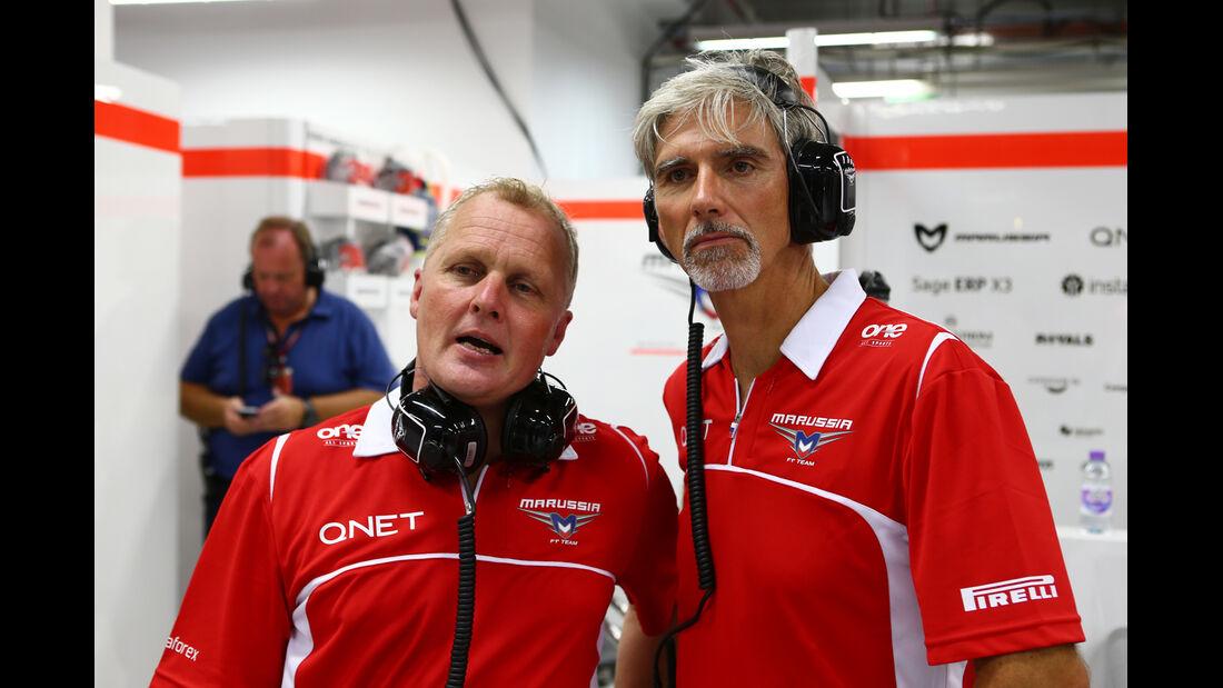 Johnny Herbert & Damon Hill - Formel 1 - GP Singapur - 19. September 2014