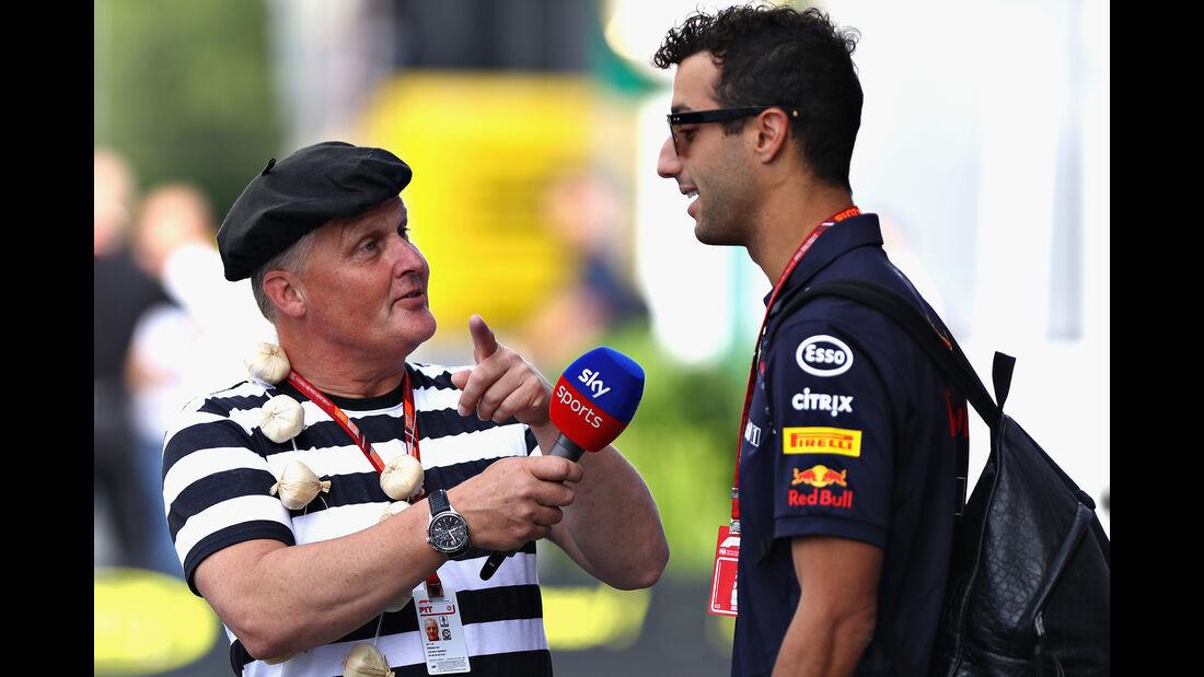 Johnny Herbert & Daniel Ricciardo - Formel 1 - GP Frankreich - Circuit Paul Ricard - 22. Juni 2018