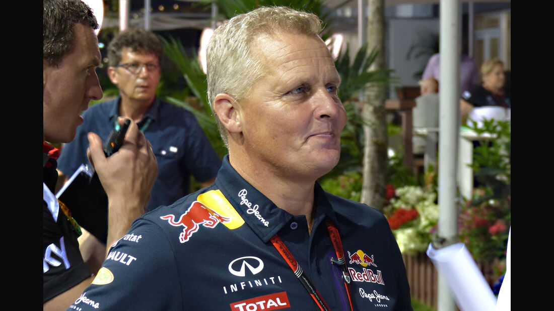 Johnny Herbert - Formel 1 - GP Singapur - 17. September 2015