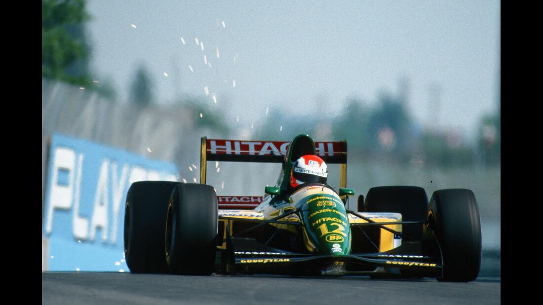 Johnny Herbert - Lotus-Ford 107 - Formel 1 - 1992