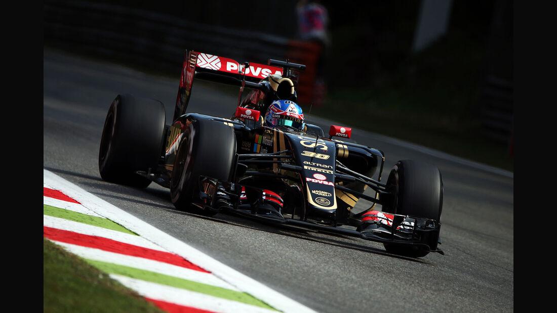 Jolyan Palmer - Lotus - Formel 1 - GP Italien - Monza - 4. September 2015