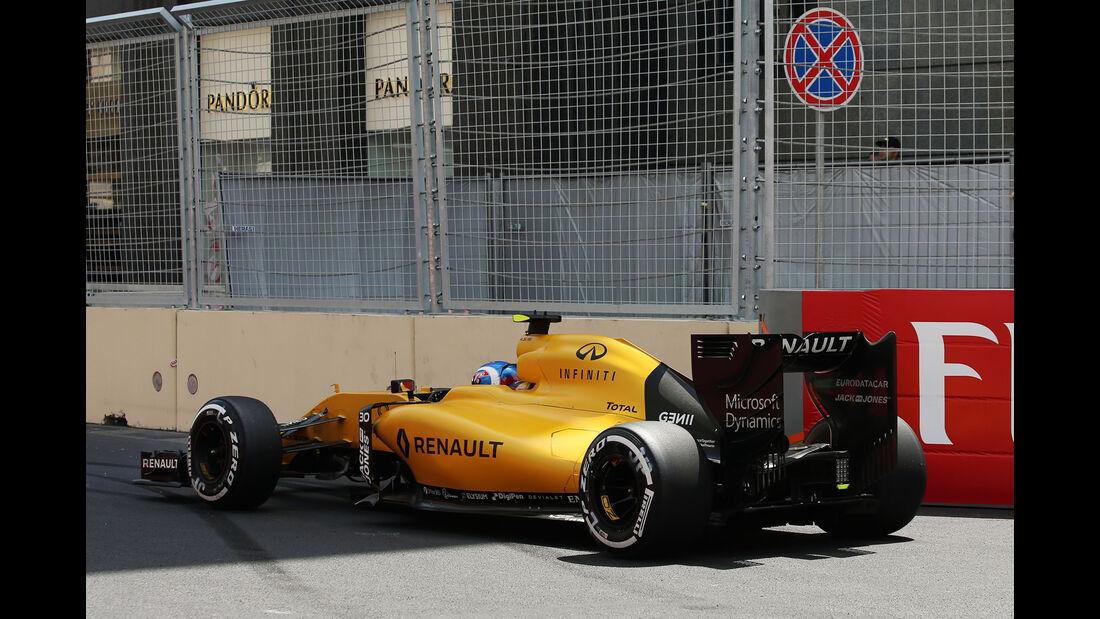 Jolyon Palmer - Formel 1 - GP Aserbaidschan 2016