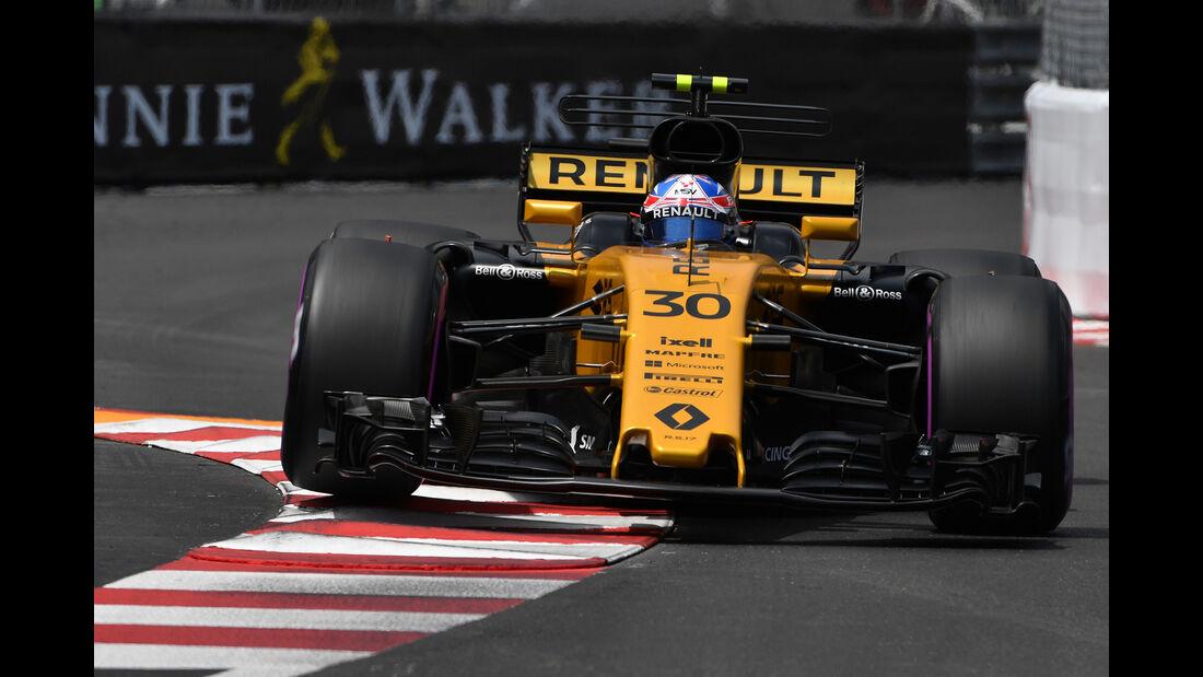 Jolyon Palmer - Formel 1 - GP Monaco 2017