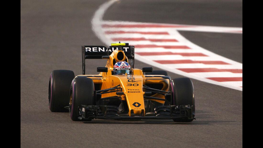 Jolyon Palmer - GP Abu Dhabi 2016