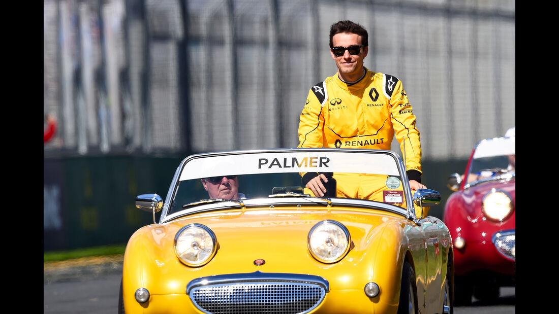 Jolyon Palmer - GP Australien 2016