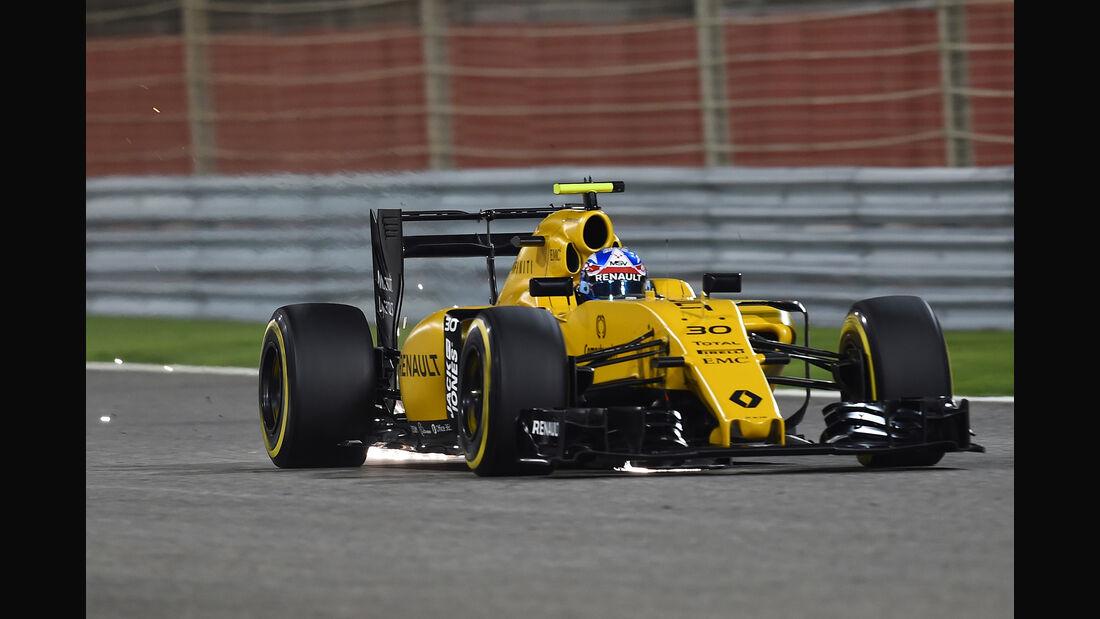 Jolyon Palmer - GP Bahrain 2016