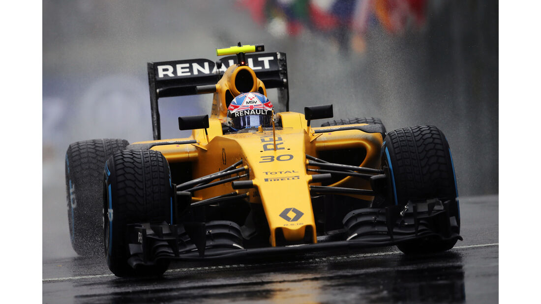 Jolyon Palmer - GP Brasilien 2016