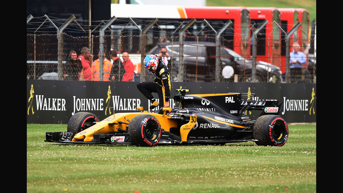 Jolyon Palmer - GP England 2017