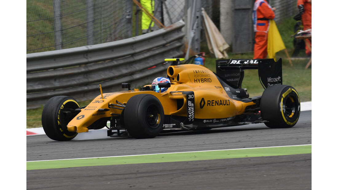 Jolyon Palmer - GP Italien 2016