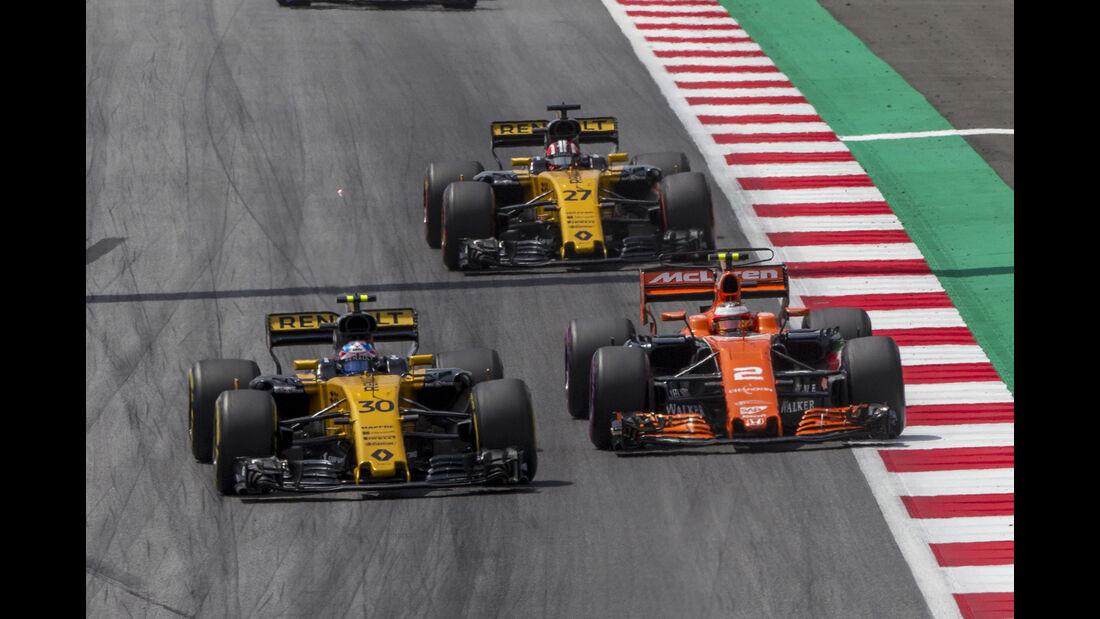 Jolyon Palmer - GP Österreich 2017