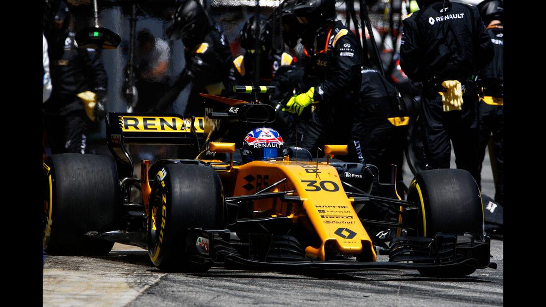 Jolyon Palmer - GP Spanien 2017