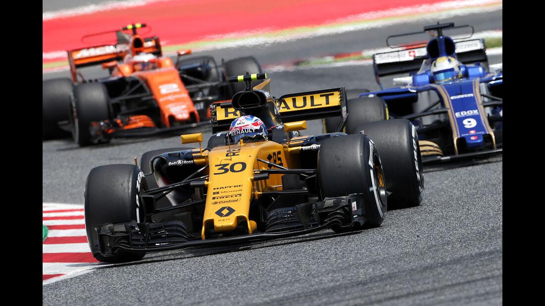 Jolyon Palmer - GP Spanien - Formel 1 - 2017