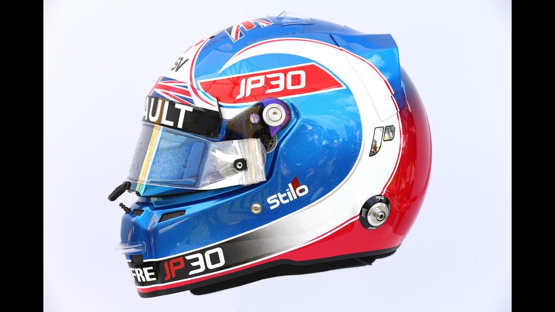Jolyon Palmer - Helm - Formel 1 - 2017