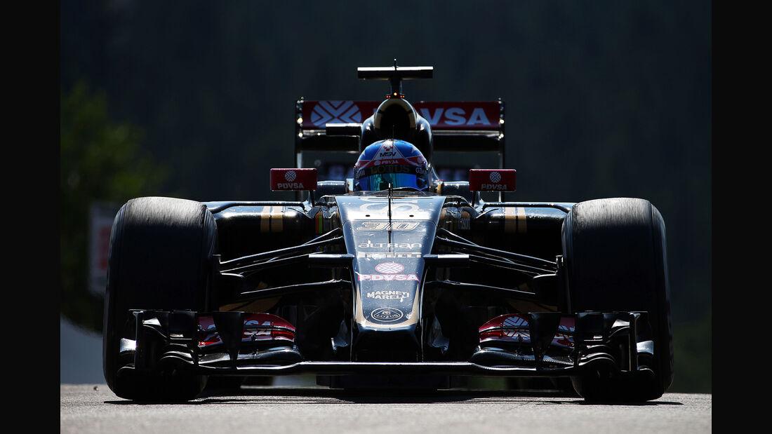 Jolyon Palmer - Lotus - Formel 1 - GP Belgien - Spa-Francorchamps - 21. August 2015