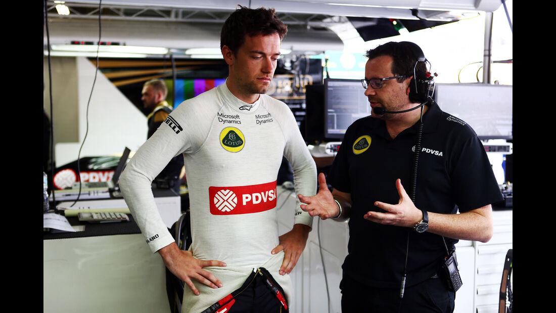 Jolyon Palmer - Lotus - Formel 1 - GP Brasilien- 13. November 2015