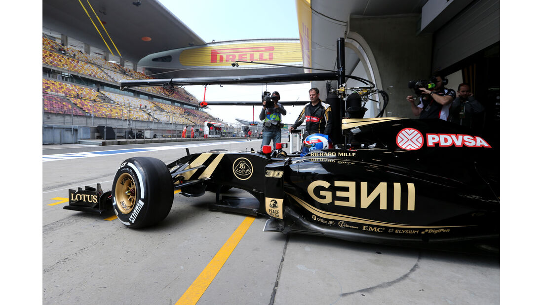 Jolyon Palmer - Lotus - Formel 1 - GP China - Shanghai - 10. April 2015