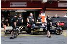 Jolyon Palmer - Lotus - Formel 1-Test - Barcelona - 13. Mai 2015